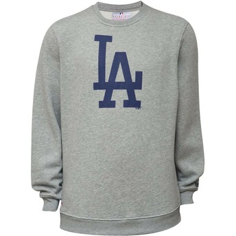 Sweat-shirt gris Crew Neck Los Angeles Dodgers MLB New Era