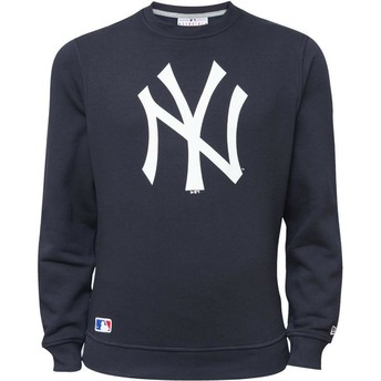 Sweat-shirt bleu Crew Neck New York Yankees MLB New Era