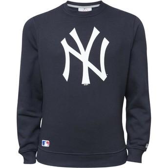 Sweat-shirt bleu Crew Neck New York Yankees MLB New Era