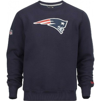 New Era New England Patriots NFL Crew Neck Sweatshirt blau