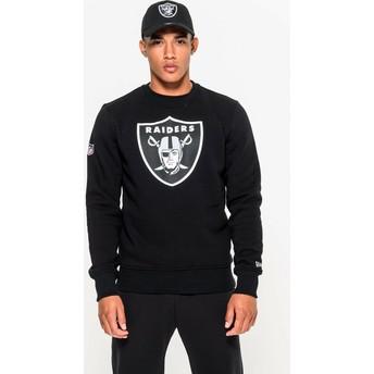 New Era Las Vegas Raiders NFL Crew Neck Sweatshirt schwarz