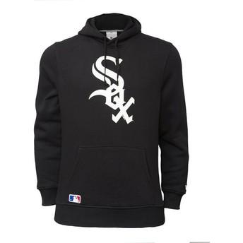New Era Chicago White Sox MLB Pullover Hoodie Kapuzenpullover Sweatshirt schwarz