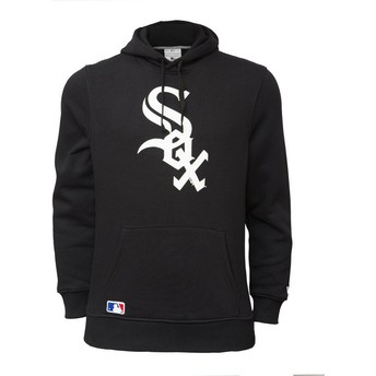Sweat à capuche noir Pullover Hoodie Chicago White Sox MLB New Era