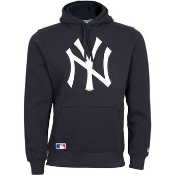 Sweat à capuche bleu marine Pullover Hoodie New York Yankees MLB New Era