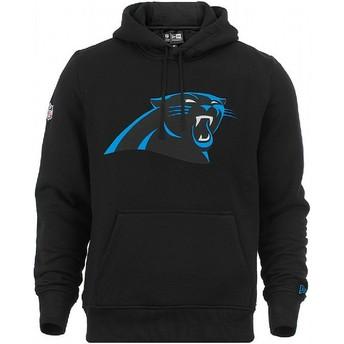 Sweat à capuche noir Pullover Hoodie Carolina Panthers NFL New Era