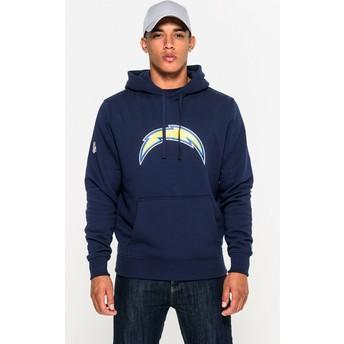 Sweat à capuche bleu Pullover Hoodie San Diego Chargers NFL New Era