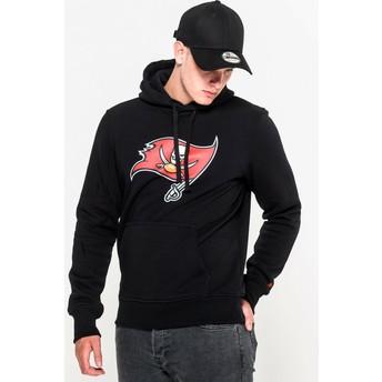 New Era Tampa Bay Buccaneers NFL Pullover Hoodie Kapuzenpullover Sweatshirt schwarz