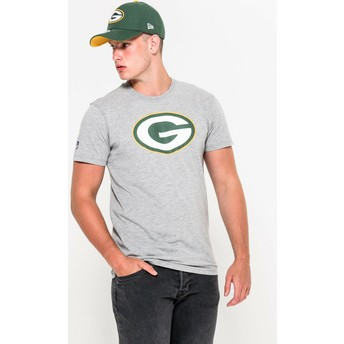 New Era Green Bay Packers NFL T-Shirt grau