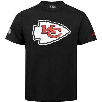 T-shirt à manche courte noir Kansas City Chiefs NFL New Era