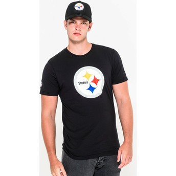 New Era Pittsburgh Steelers NFL T-Shirt schwarz