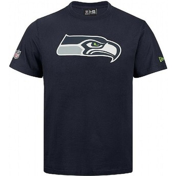 New Era Seattle Seahawks NFL T-Shirt blau