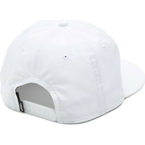casquette-plate-blanche-snapback-helms-unstructured-vans