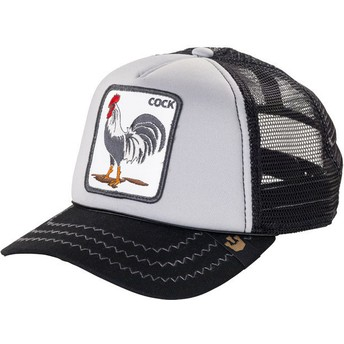 Goorin Bros. Rooster Checkin' Traps Trucker Cap grau