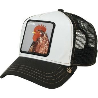 Goorin Bros. Rooster Plucker Trucker Cap schwarz