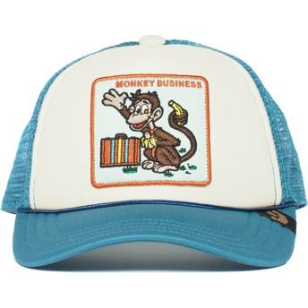 Goorin Bros. Kinder Monkey Business Trucker Cap blau