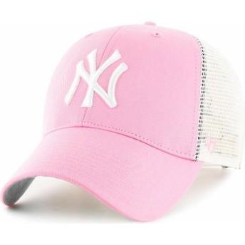 47 Brand New York Yankees MLB Trucker Cap pink