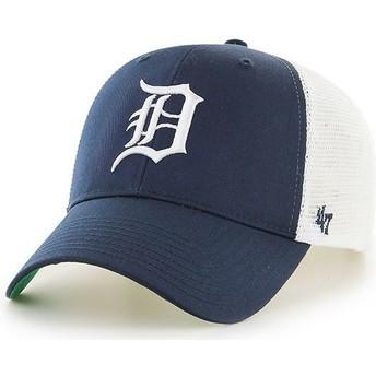 Casquette trucker bleue marine Detroit Tigers MLB MVP Branson 47 Brand
