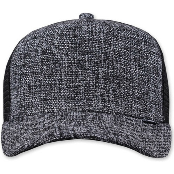 casquette-trucker-noire-effect-marbre-colored-linen-djinns