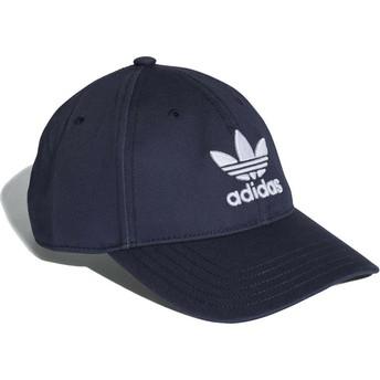 Adidas Curved Brim Trefoil Classic Adjustable Cap marineblau