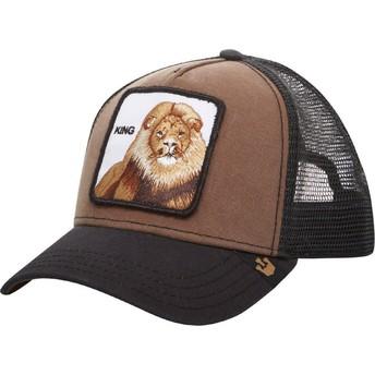 Casquette trucker marron lion King Goorin Bros.