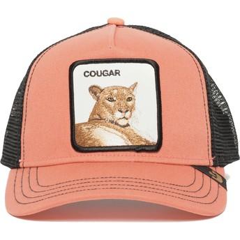 Casquette trucker rose puma Cougar Town Goorin Bros.