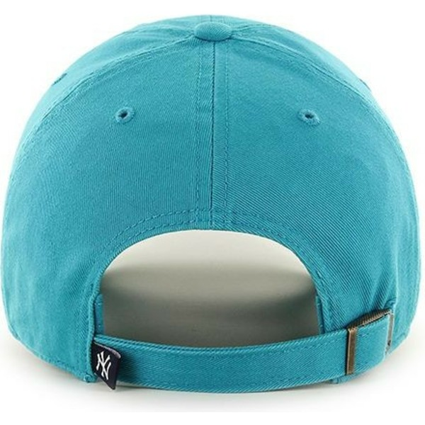 casquette-courbee-bleue-neptune-snapback-new-york-yankees-mlb-clean-up-47-brand