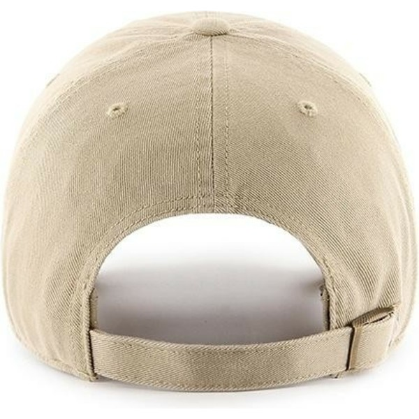 casquette-courbee-khaki-avec-logo-khaki-new-york-yankees-mlb-clean-up-47-brand