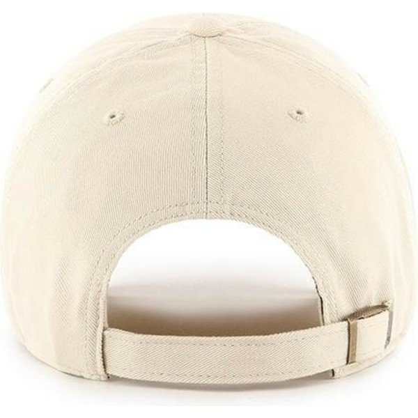casquette-courbee-creme-avec-logo-creme-new-york-yankees-mlb-clean-up-47-brand