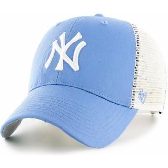 47 Brand New York Yankees MLB MVP Branson HellTrucker Cap blau