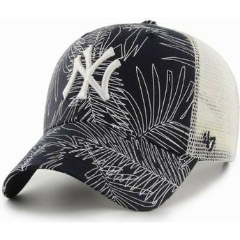 47 Brand New York Yankees MLB MVP Palma Trucker Cap marineblau