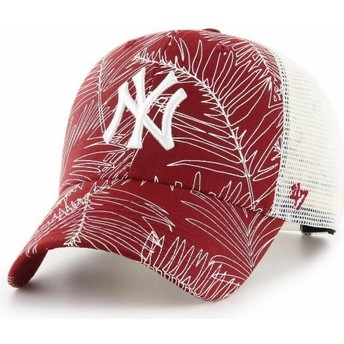 Casquette trucker rouge New York Yankees MLB MVP Palma 47 Brand