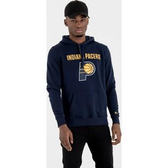 New Era Indiana Pacers NBA Pullover Hoodie Kapuzenpullover Sweatshirt marineblau