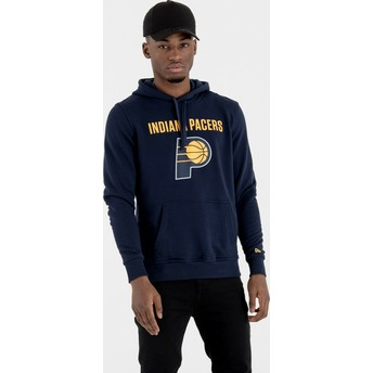 Sweat à capuche bleu marine Pullover Hoody Indiana Pacers NBA New Era