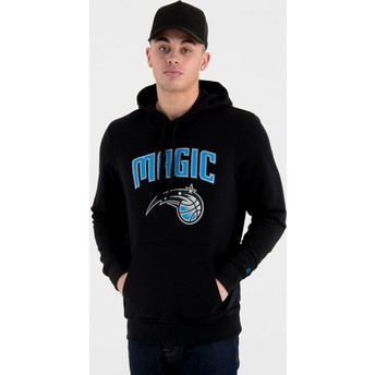 New Era Orlando Magic NBA Pullover Hoodie Kapuzenpullover Sweatshirt schwarz