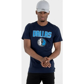 New Era Dallas Mavericks NBA T-Shirt marineblau