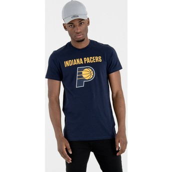 New Era Indiana Pacers NBA T-Shirt marineblau
