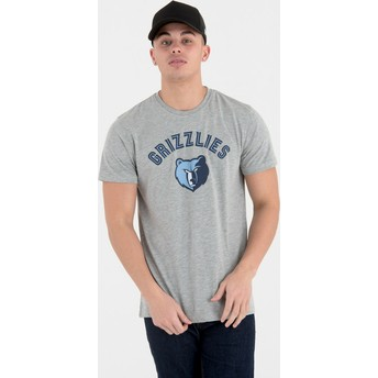 T-shirt à manche courte gris Memphis Grizzlies NBA New Era