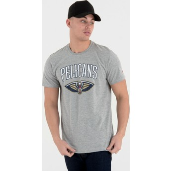 New Era New Orleans Pelicans NBA T-Shirt grau