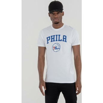 New Era Philadelphia 76ers NBA T-Shirt weiß