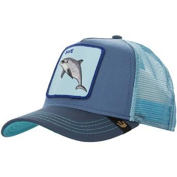 Casquette trucker bleue dauphin Save Us Goorin Bros.