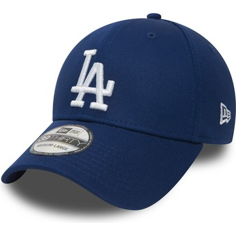 Casquette courbée bleue ajustée 39THIRTY Essential Los Angeles Dodgers MLB New Era