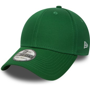 Casquette courbée verte ajustée 39THIRTY Basic Flag New Era