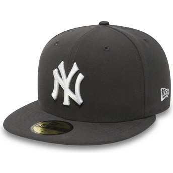 Casquette plate piedra ajustée 59FIFTY Essential New York Yankees MLB New Era