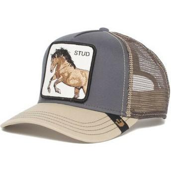 Goorin Bros. Horse You Stud Trucker Cap grau