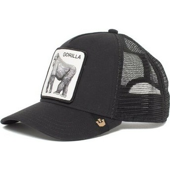 Casquette trucker noire gorille King of the Jungle Goorin Bros.