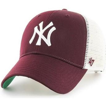47 Brand New York Yankees MLB MVP Branson Trucker Cap braun