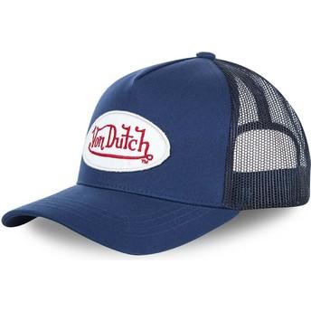 Von Dutch Curved Brim BMMARI Adjustable Cap blau