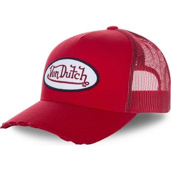 Von Dutch FRESH01 Trucker Cap rot
