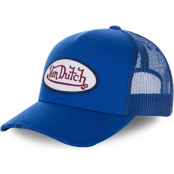 Casquette trucker bleue FRESH02 Von Dutch