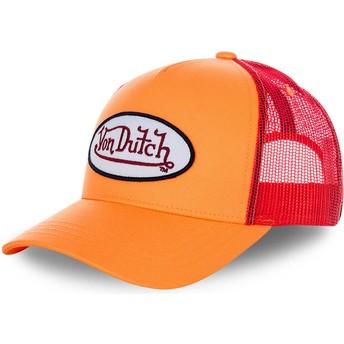 Von Dutch FRESH03 Trucker Cap orange und rot